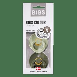 Bibs - Maat 3- Sage/Hunter Green 2-pack