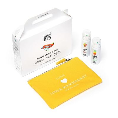 Linea MammaBaby baby sun travel kit (Pouche incl 25ml 50+)
