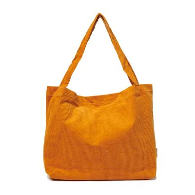 Studio Noos - Orange rib Mom-Bag
