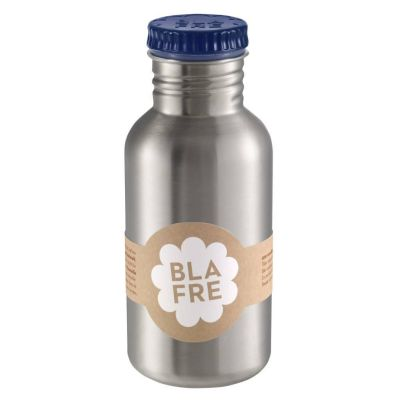 Blafre - Steel Bottle 500ml - Donkerblauw