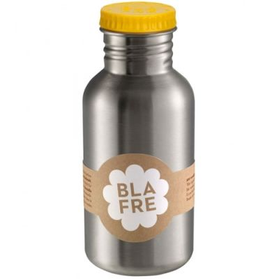Blafre - Steel Bottle 500ml - Geel