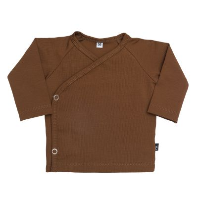 Sweet & Small - Overslagvestje - Dark Brown maat 50