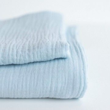 Sweet & Small Swaddle - Baby Blue