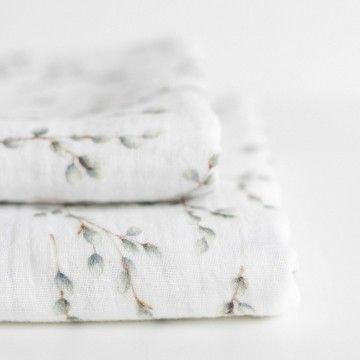 Sweet & Small Swaddle - Catkins