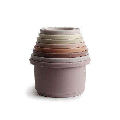 Mushie - Stapeltoren - Pastel