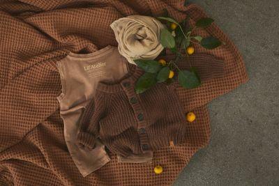 Lil'Atelier - Suit Sage - Tobacco Brown 86