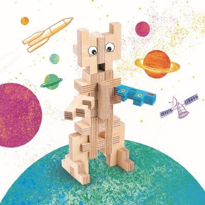Cloze - Houten Bouwpakket - Robot