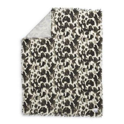 Elodie Soft Cotton Blanket Wild Paris