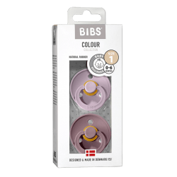 Bibs - Maat 1- Dusky Lilac/Heather 2-pack