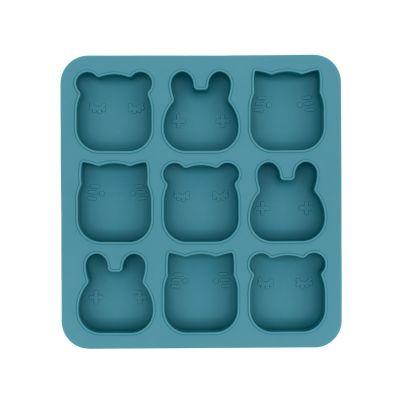 Siliconen vormpjes met deksel - Freeze&Bake Poddies - Blue Dusk