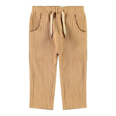 Lil'Atelier - Ankle Pants Sylvester - Tobacco Brown 92