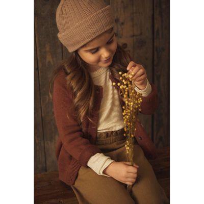 Lil'Atelier - Gasanne Knit Hat - Almondine 48/49