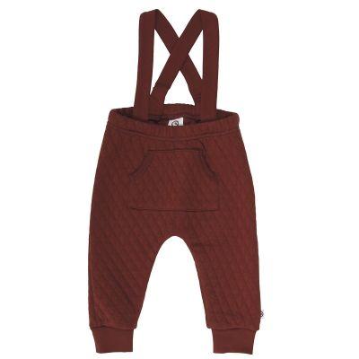 Musli - Quilt suspender pants 98