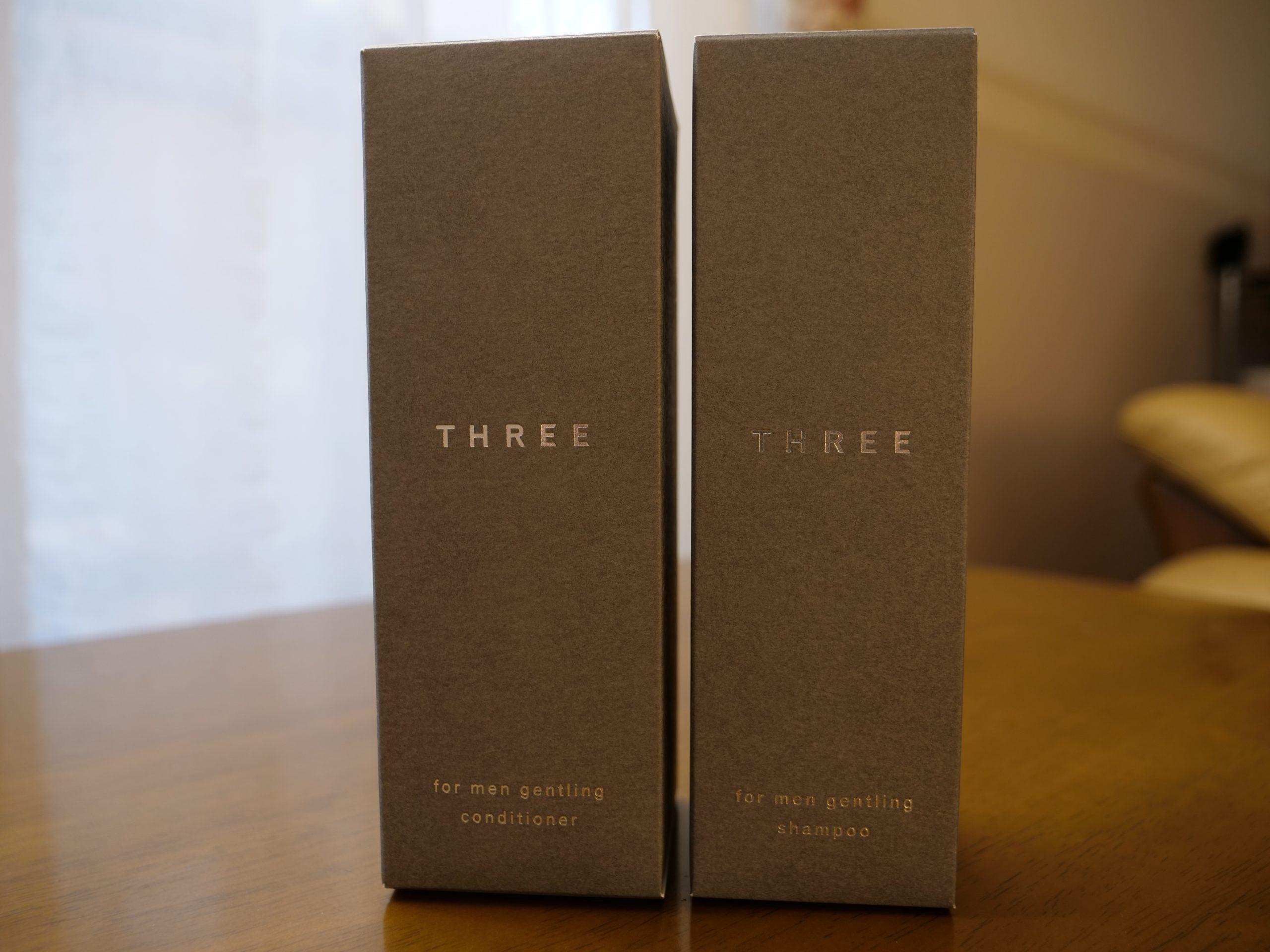 three_シャンプー&コンディショナー