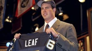 The Biggest NFL Draft Busts of All-Time