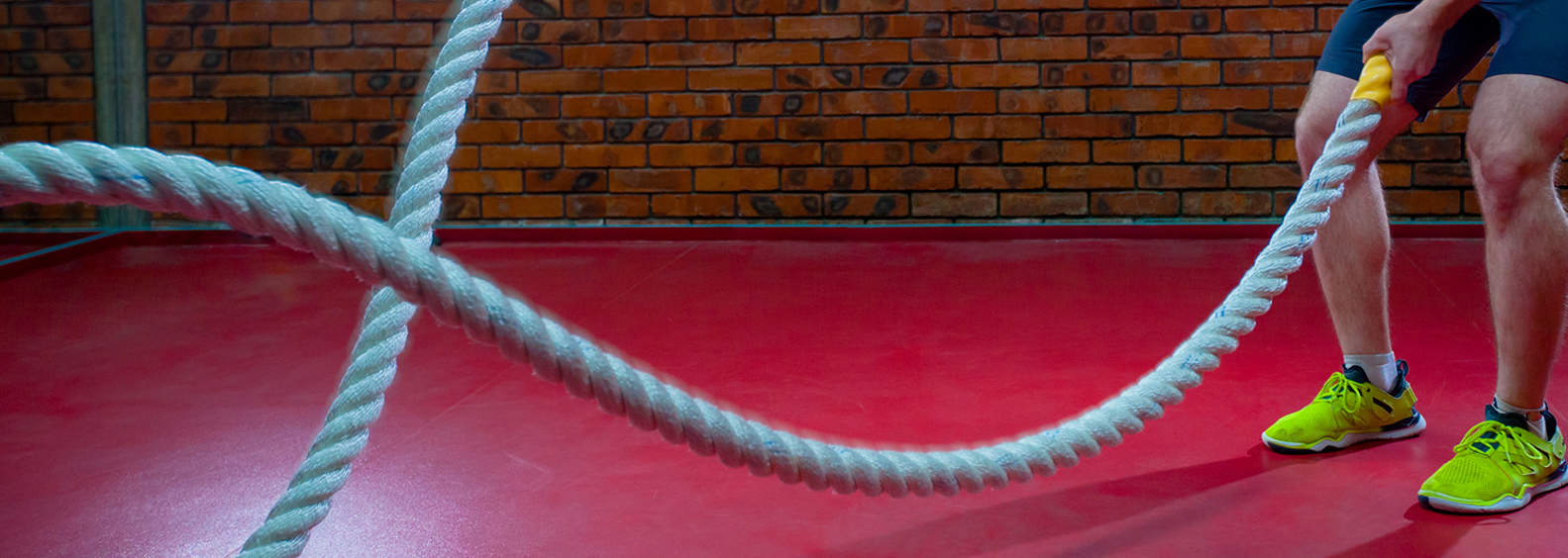 5 Battle Ropes Exercises for Beginners
