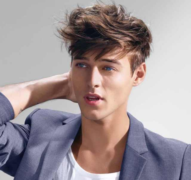 25 stylish messy hairstyles for men 2018 - men's haircut styles