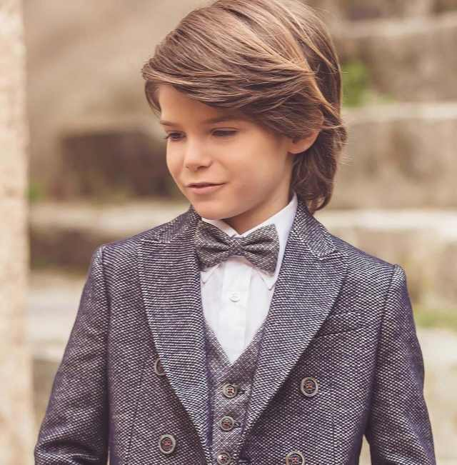 classy baby boy hairstyles for long hair 2018 - men's