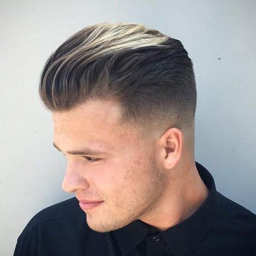Low Fade Slick Back Hair Novocom Top