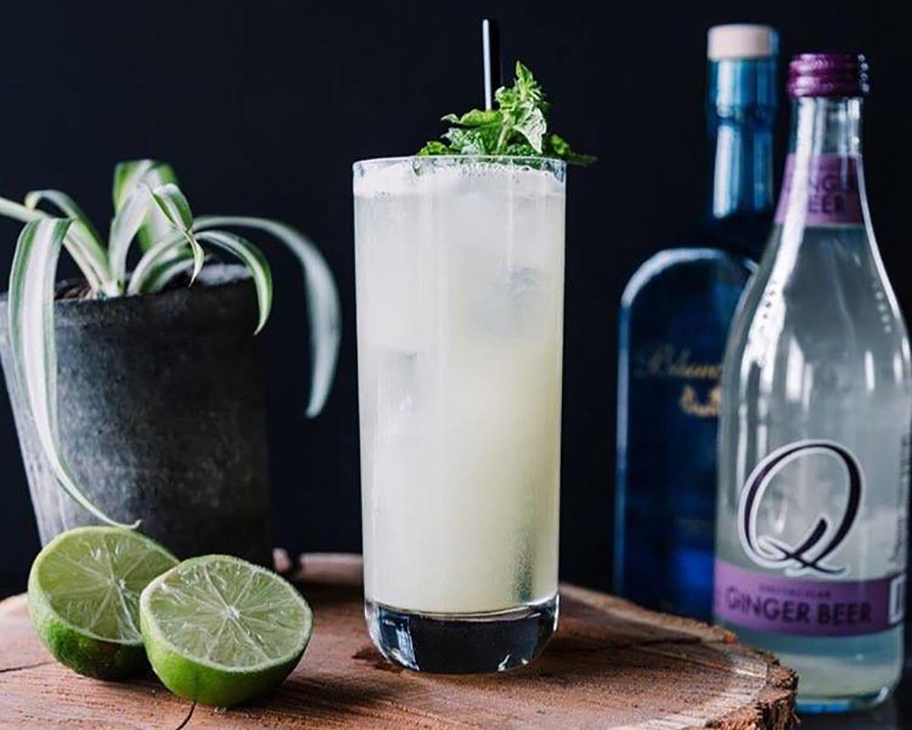 Halloween Cocktail Recipes - Ghostly Brew