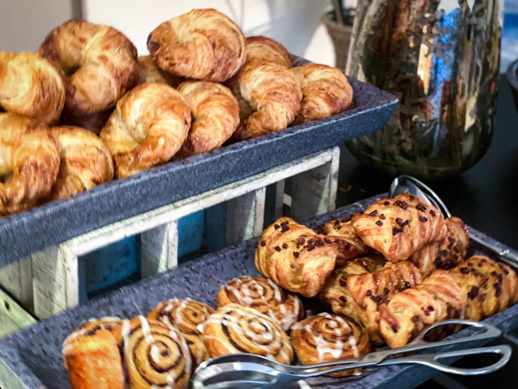 Pastries at Seasons Sunday brunch