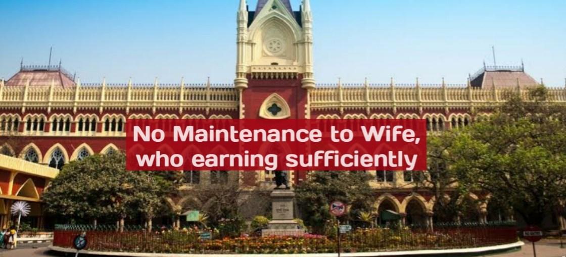 Denial of Maintenance by Calcutta HC