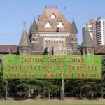 Bombay HC over jurisdiction of DV