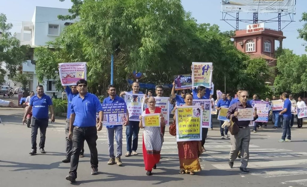 Awareness Programme at Ahmedabad by Men's Rights Activists