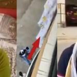 Chandra Prakash Kathuria injured while trying to escape from Balcony