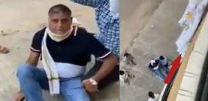 Chandra Prakash Kathuria injured while trying to COME DOWN from Balcony