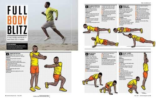 runner's workout
