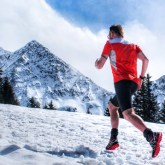 joys of snow running