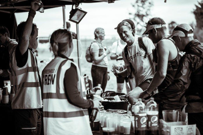 how to make the most of aid stations running