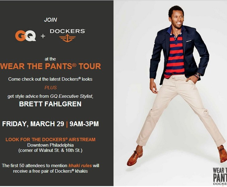 GQ and Dockers