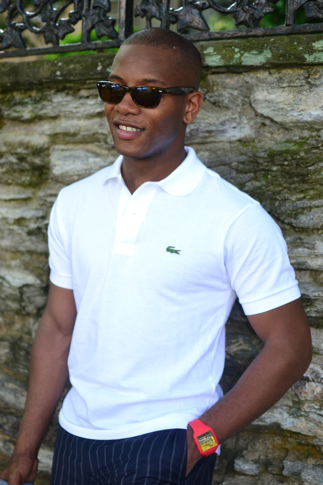 Lacoste 80th Anniversary of the 12.12.1 Polo Shirt via Men's Style Pro
