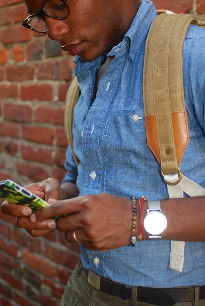 sabir of men's style pro wearing degs & sal bracelets