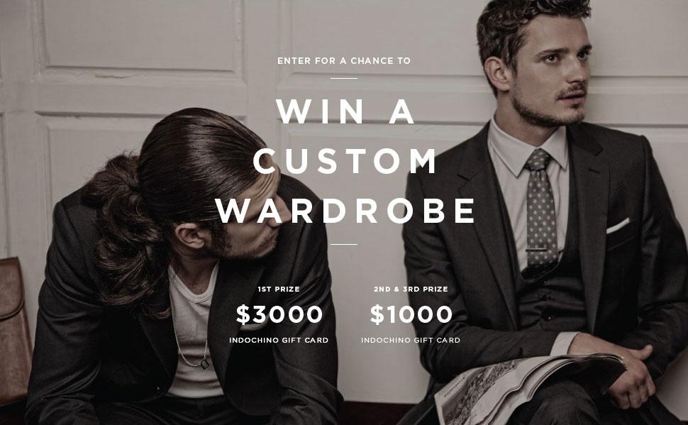Indochino $3000 Custom Wardrobe Menswear Giveaway