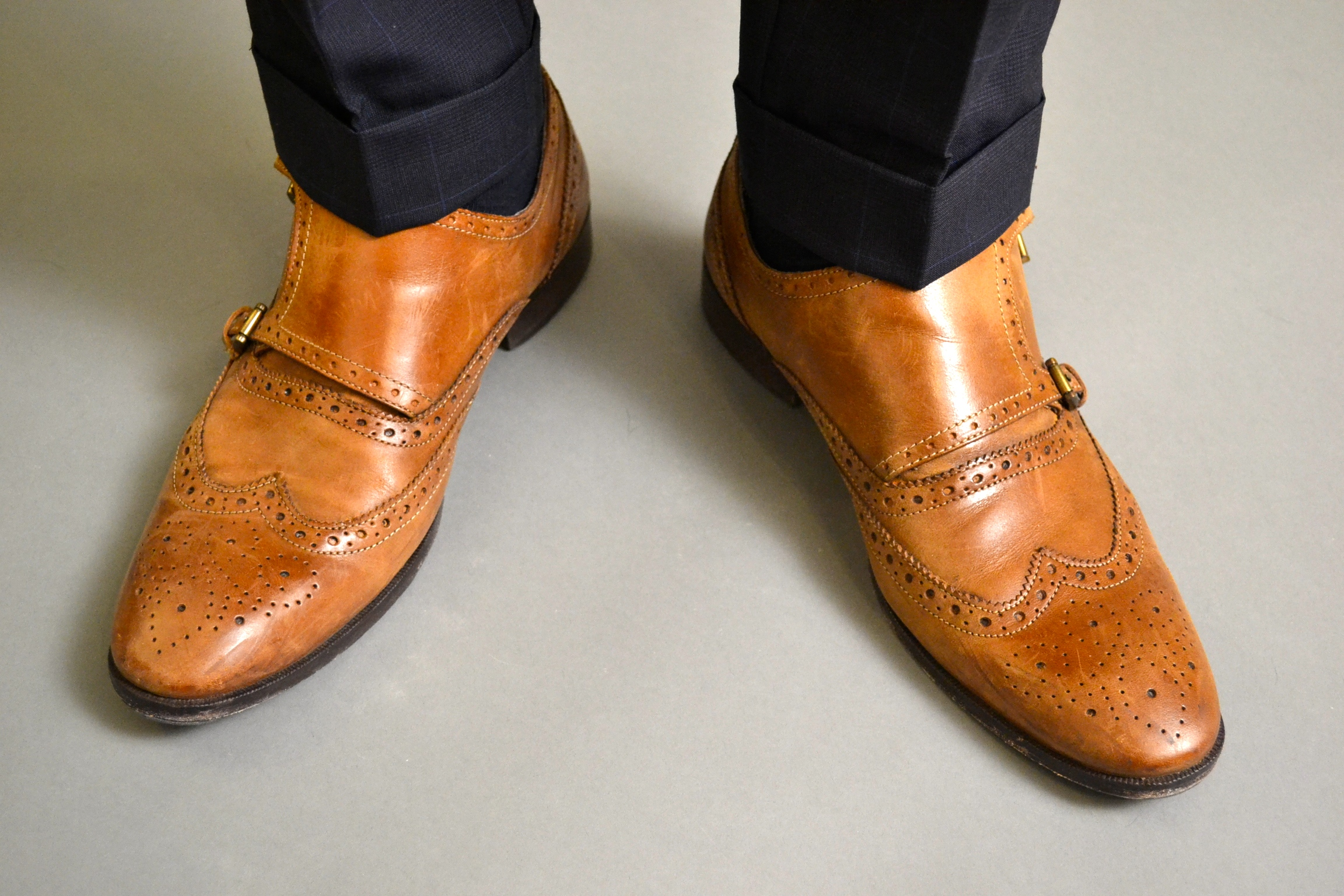 Giorgio Brutini Double Monk Strap Shoes on Men's Style Pro