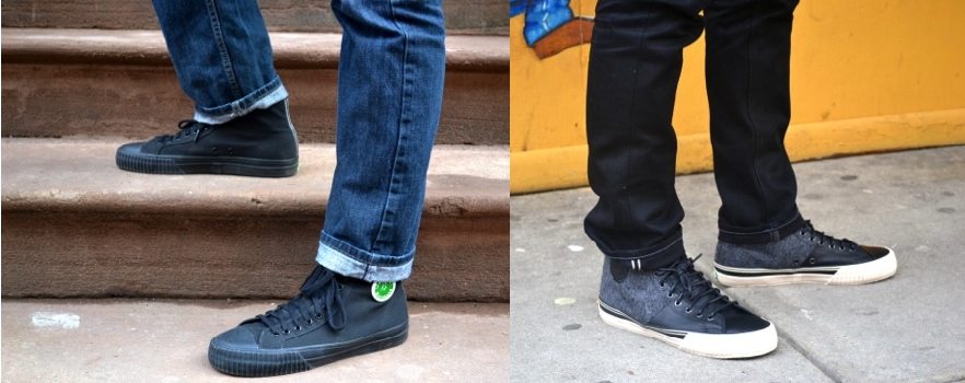 PF Flyers vs Shot via Men's Style Pro