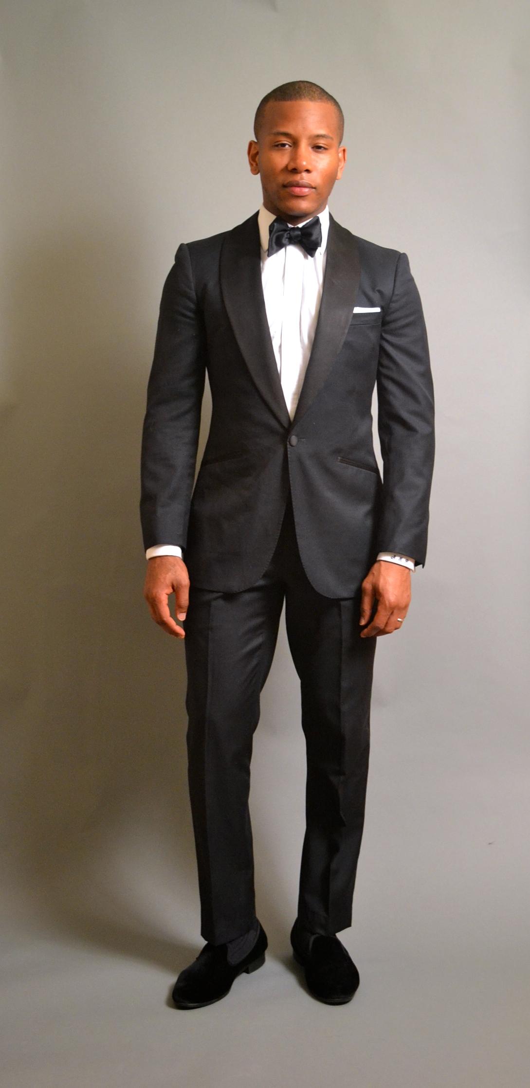 Enzo Custom Clothiers Midnight Blue Tuxedo