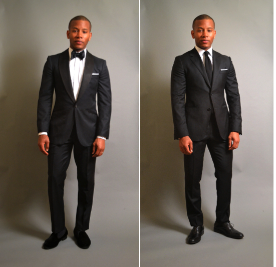 Sabir Peele Wedding Season Featuring Enzo Custom Clothiers