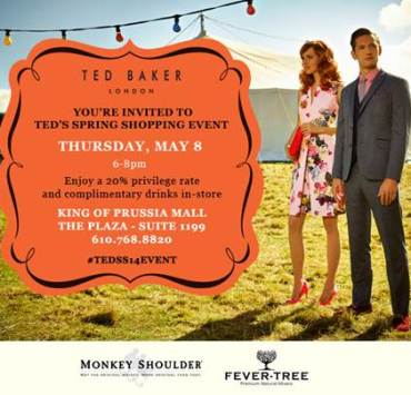 Ted Baker SS 14 Shopping Event