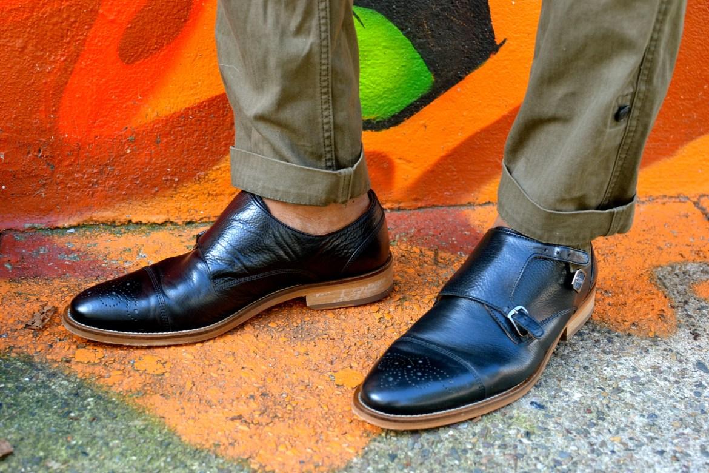 Johnston & Murphy hanngan double monk strap shoes Men's Style Pro