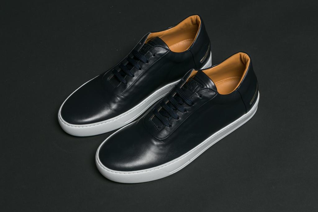 RIST Footwear BlackLeather Sneakers