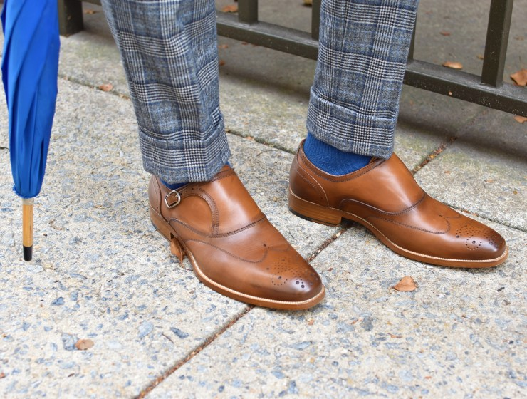 Johnston & Murphy Cates Single Buckle Shoe