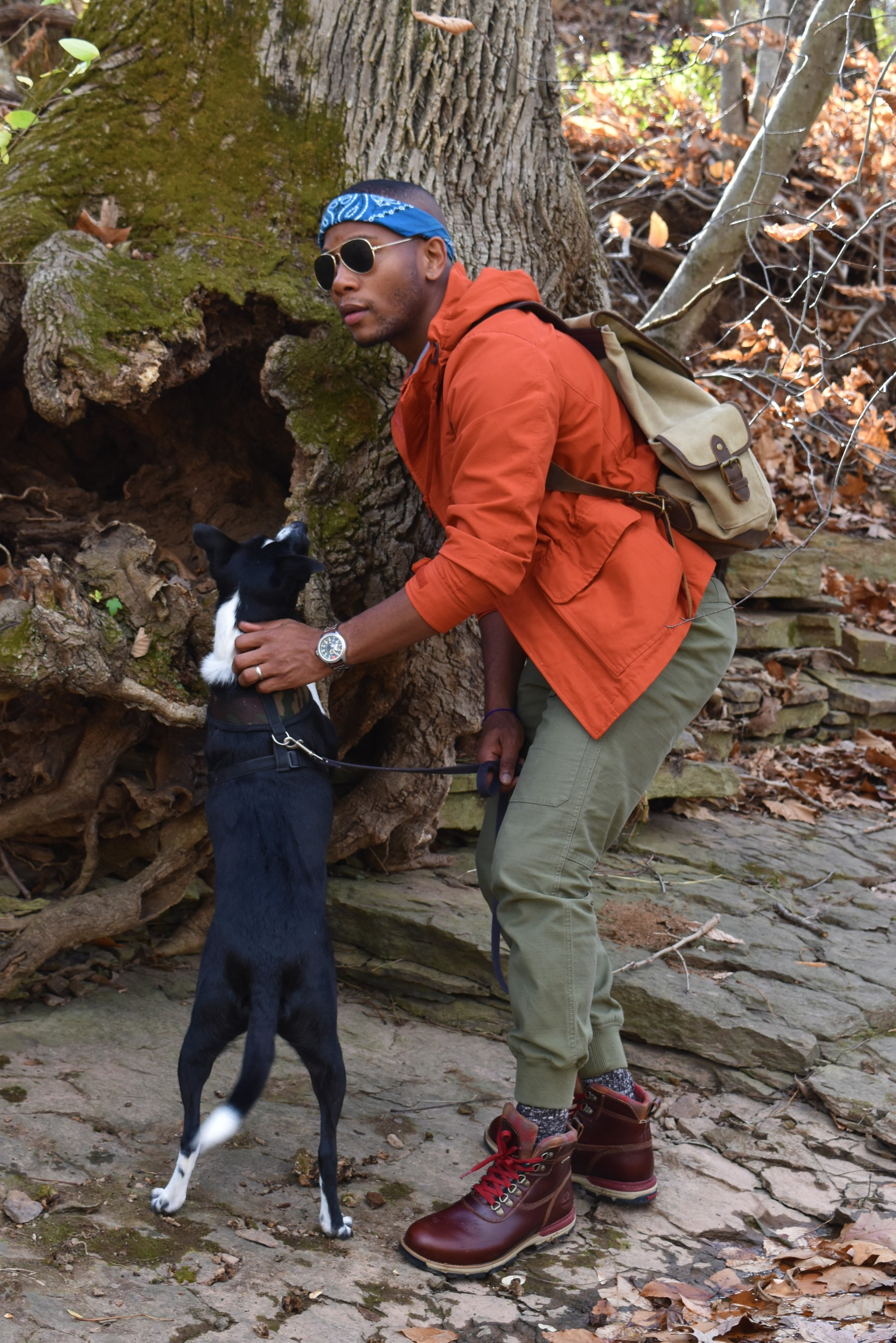 Sabir M. Peele of Men's Style Pro in Timberland Hiking Boots 21