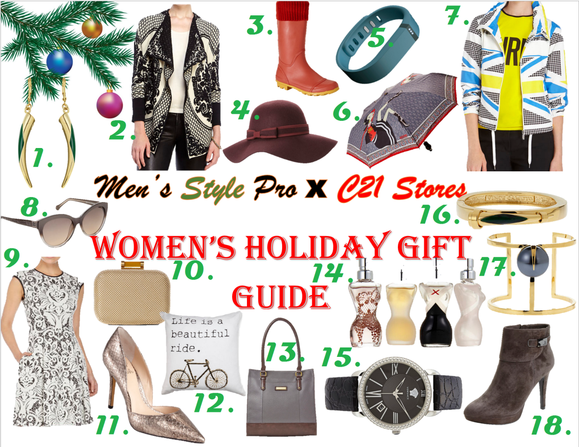 MSP x C21 Stores Women's Holiday Gift Guide Numbered