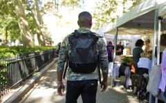 Sabir M. Peele rocking Sherpani Backpack