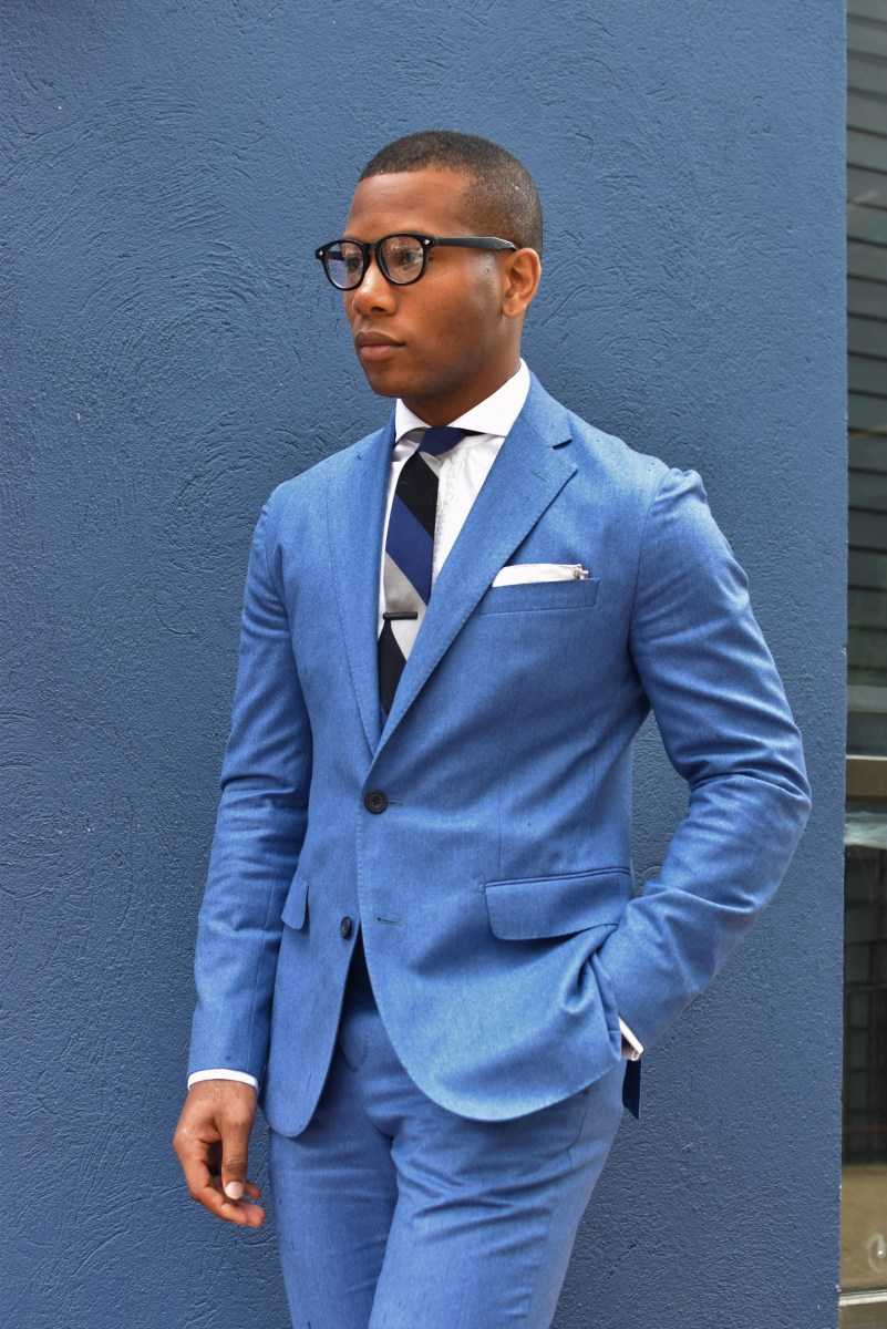 The New Spring Blue Suit