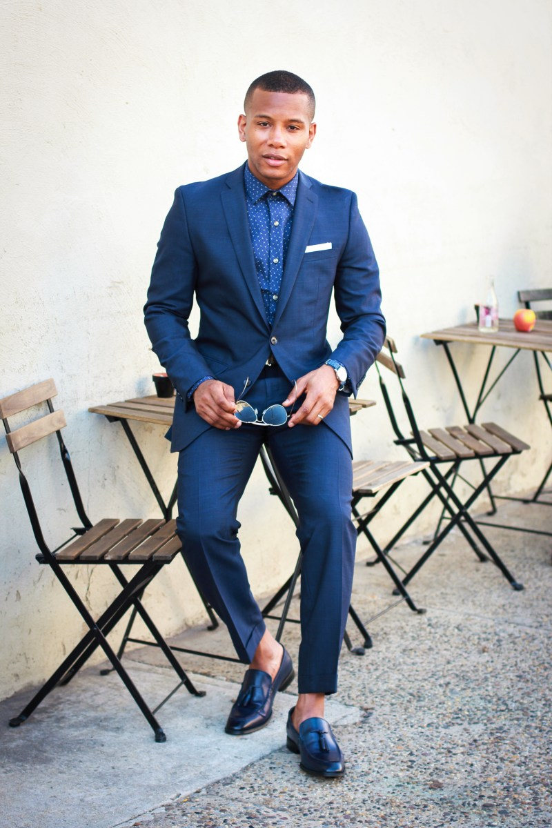 The Midnight Blue Suit 5 Ways With Bar III